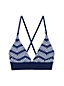 Women's Sunrise Print Lace-back Bikini Top