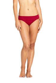Women's Banded Low Waist Hipster Bikini Bottoms