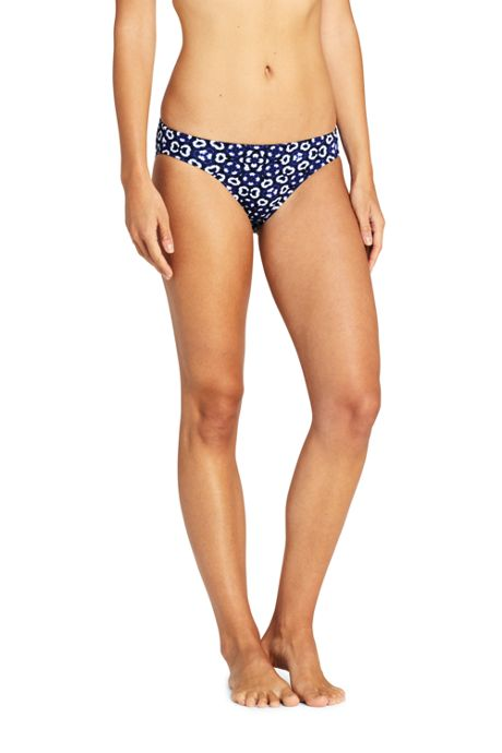 Women's Low Waist Hipster Bikini Bottoms Print