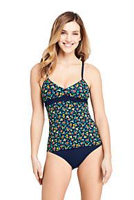 4786e59580 Women's V-neck Tankini Top Swimsuit Print