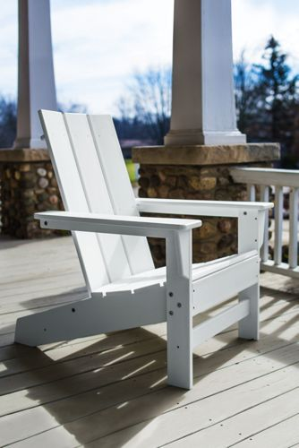 All-Weather Recycled Modern Adirondack Chair