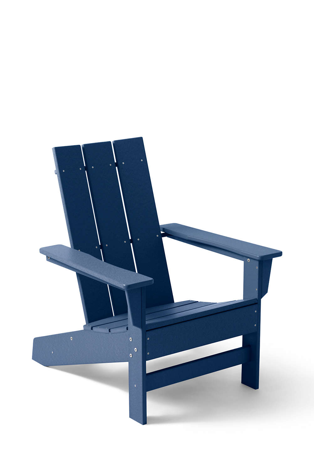 All Weather Recycled Modern Adirondack Chair From Lands End