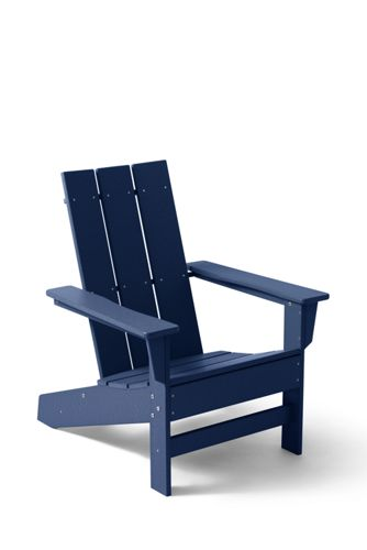 All Weather Recycled Modern Adirondack Chair