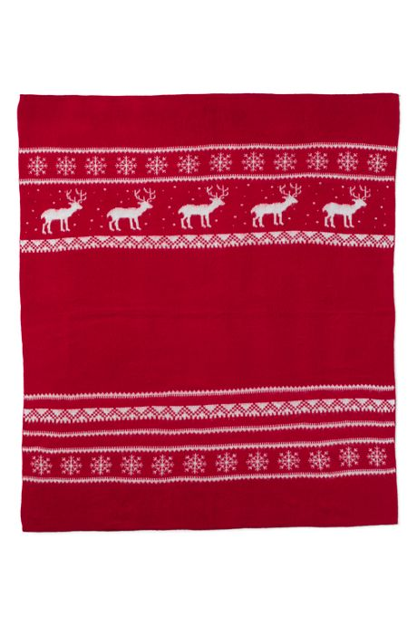 Holiday Pattern Throw