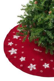 Felt Star Christmas Tree Skirt