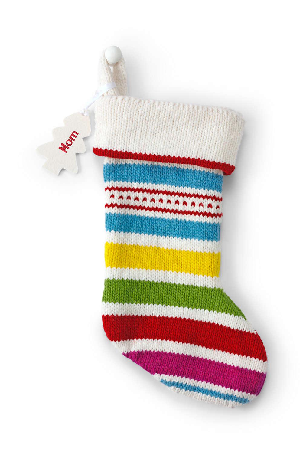 Knit Christmas Stockings.Knit Christmas Stocking