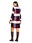 La Robe Chemise à Carreaux en Viscose et Lyocell, Femme Stature Standard