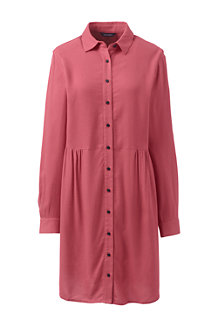 Women's Brushed Viscose Shirt Dress