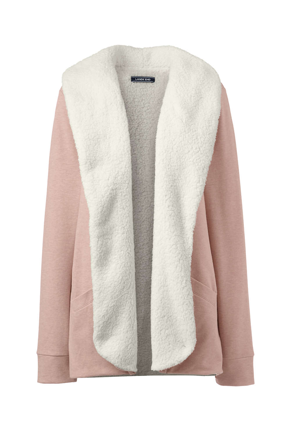 8781bcc275e Women s Shawl Collar Jacket Cardigan from Lands  End