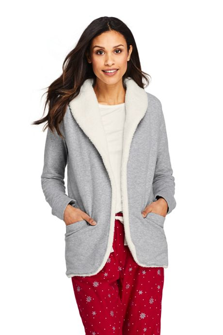 Women's Petite Shawl Collar Jacket Cardigan