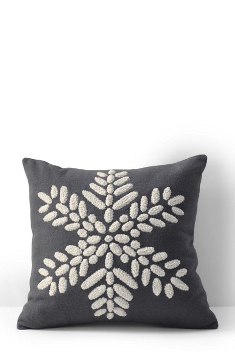 Snowflake Dec Pillow