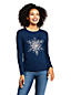 Women's Petite Festive Graphic Lightweight Cotton/Modal T-shirts