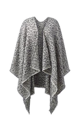 Women's Reversible Shawl Wrap