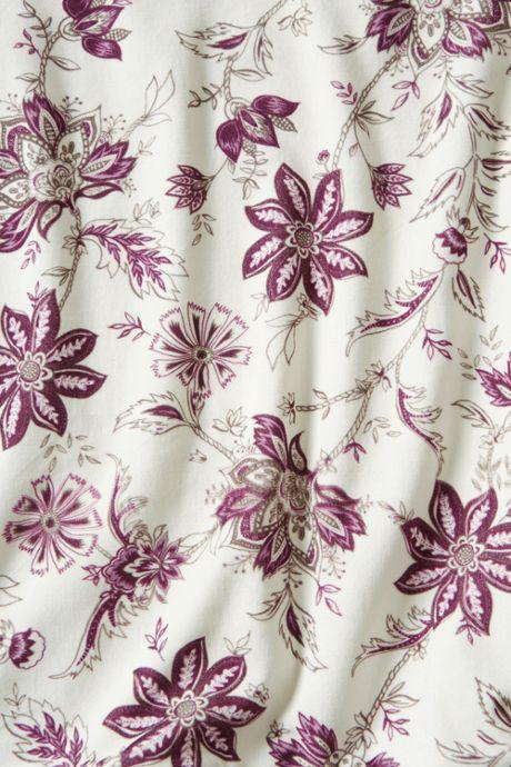 Printed Velvet Duvet Cover