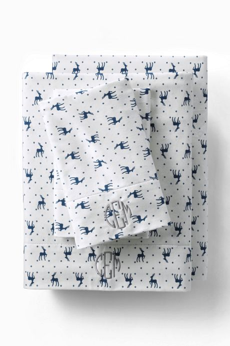 Printed 6oz Supima Flannel Pillowcases