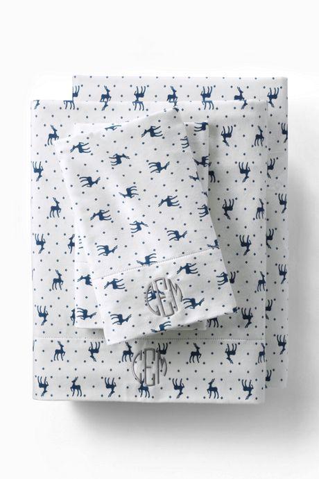 Printed 6oz Supima Flannel Pillowcases