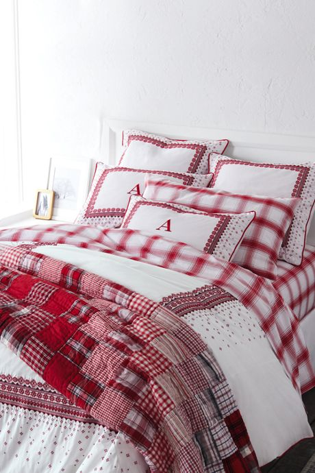 200 Percale Embroidered Duvet Cover