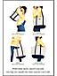 Sac Fourre-Tout Zippé Coloré Poignées Longues, Taille Moyenne
