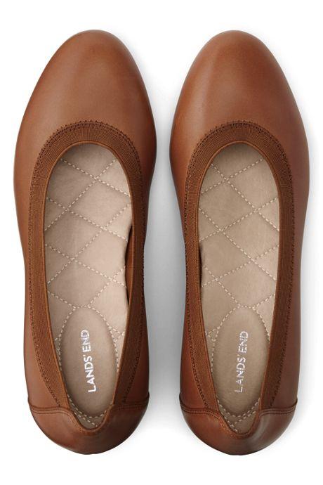 Women's Leather Everyday Comfort Elastic Wedges
