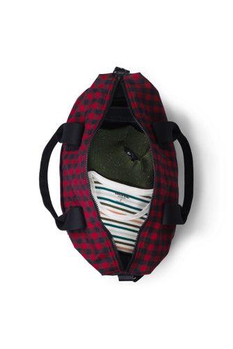Flannel Weekender Duffle Bag