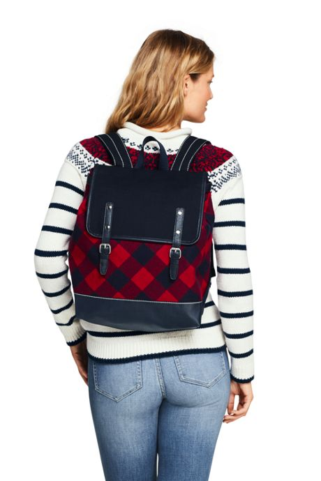 Flannel Backpack