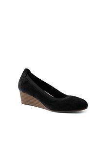 Women's Comfort Wedge Shoes in Suede