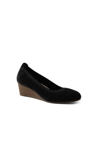 Women's Comfort Wedge Shoes in Suede