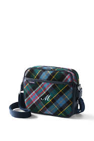 Flannel Crossbody Bag