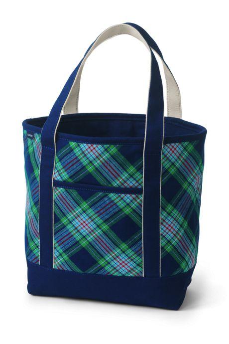 Flannel Medium Open Top Tote Bag