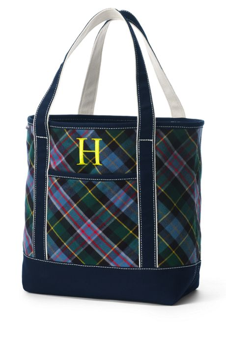Flannel Tote Bag