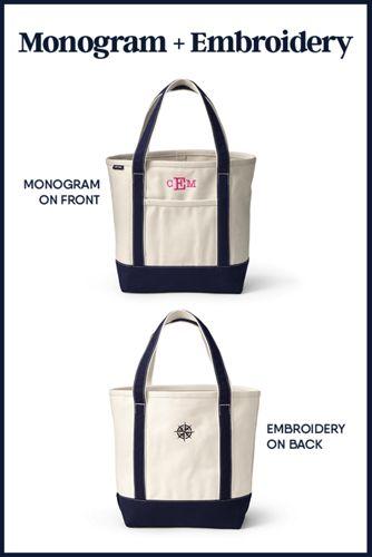 Flannel Medium Zip Top Tote Bag
