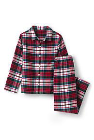 boys flannel pajama set - Plaid Christmas Pajamas
