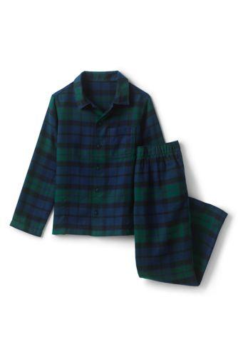 Le Pyjama 2 Pièces en Flanelle à Motifs, Garçon