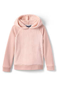 Little Girls Cozy Hooded Sweatshirt
