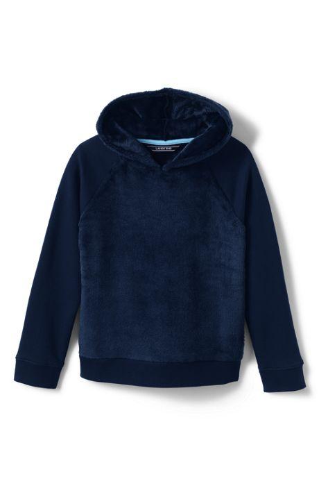 Girls Plus Cozy Hooded Sweatshirt