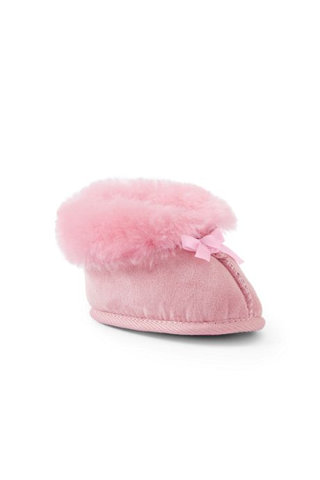 Baby Shearling Bootie Slippers