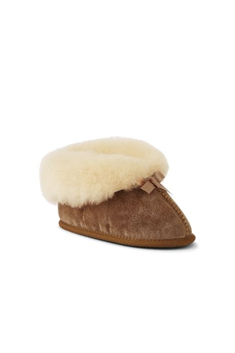 Toddler Shearling Bootie Slippers