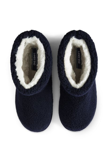 Women's Sherpa Fleece Bootie Slippers