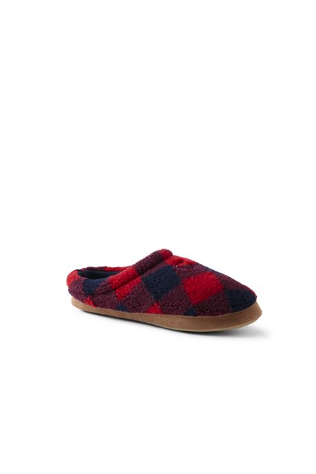 Men's Sherpa Fleece Clog Slippers