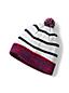 Women's Striped Fair Isle Beanie Hat