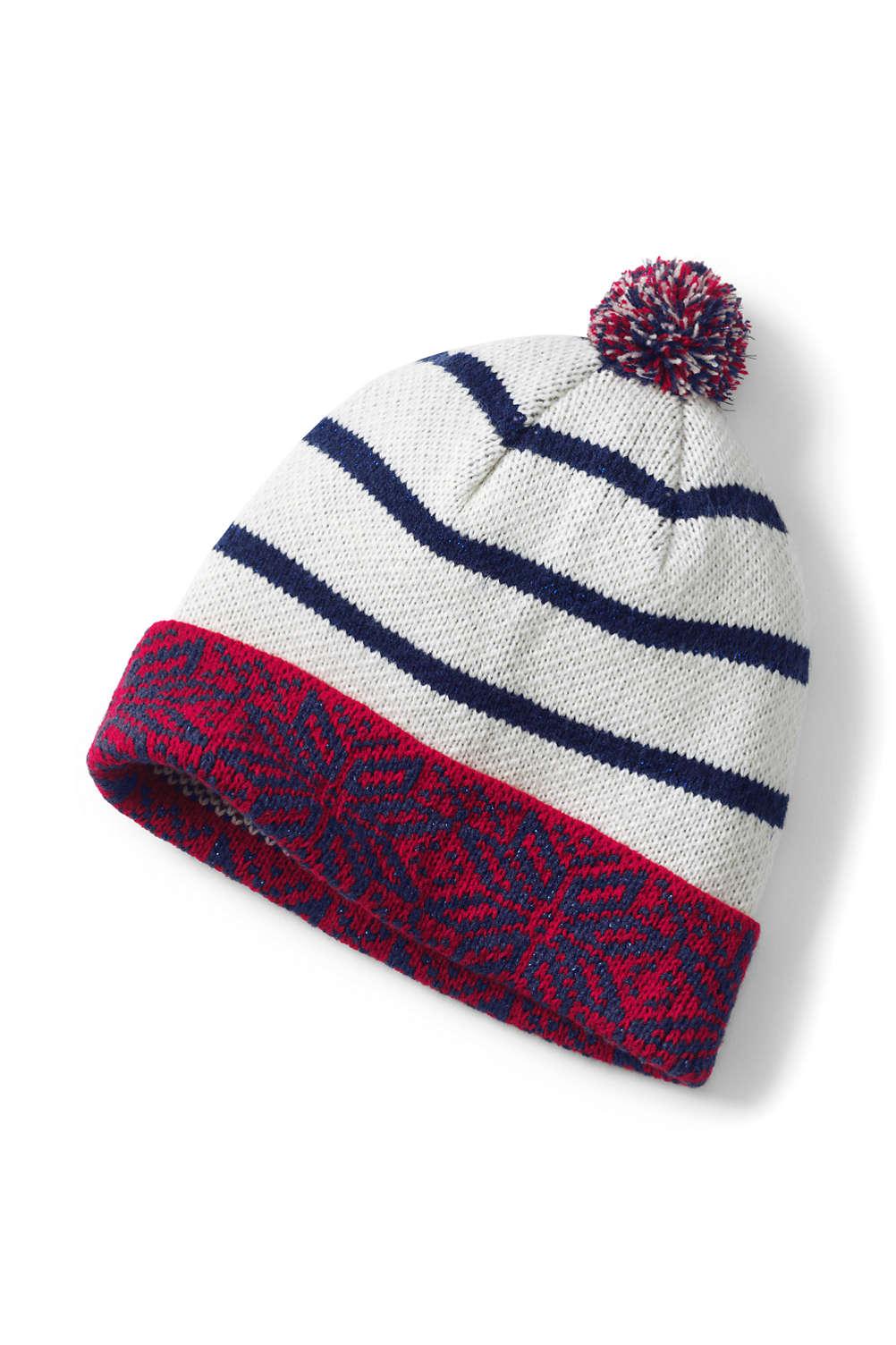 Women s Fair Isle Beanie Hat from Lands  End a0c445532b3