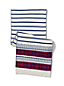 Women's Striped Fair Isle Scarf