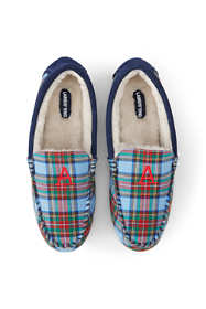 Women's Moccasin Slippers-Plaid