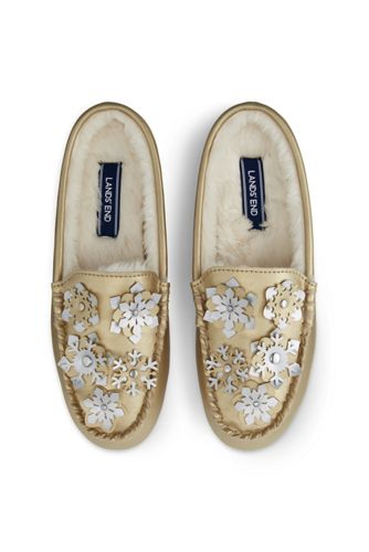 Women's Snowflake Clog Slippers