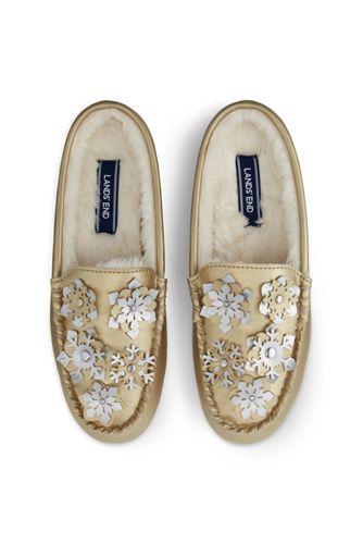 Women's Snowflake Clog Slippers