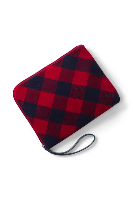 Flannel Travel Pouch
