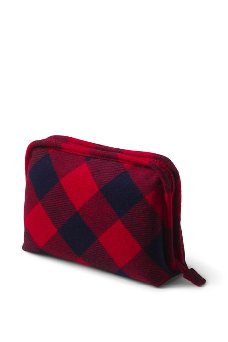 Flannel Cosmetic Case