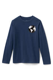 Boys Flip Sequin Graphic Tee Shirt