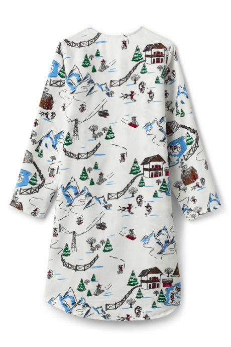 Girls Flannel Nightgown