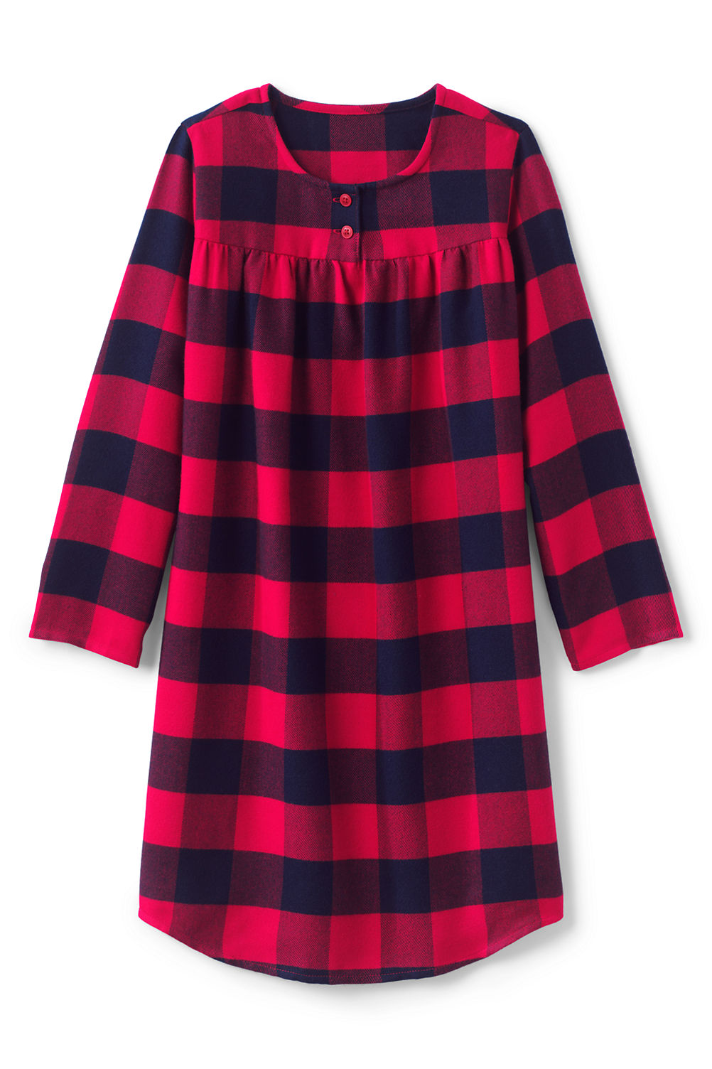Girls Flannel Nightgown from Lands\' End
